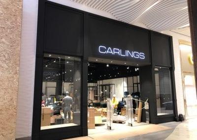 Hallarna, köpcenter i Halmstad – Carlings